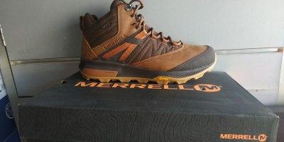 MERRELL נעלי מירל דגם j16887 Zion mid wp טיולים, נגד מים,סולית ויברם
