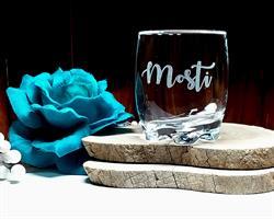 כוסות וויסקי עם חריטה