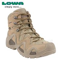 נעליים טקטיות  הרים לואה  חום כהה  LOWA Zephyr  Mid Coyote