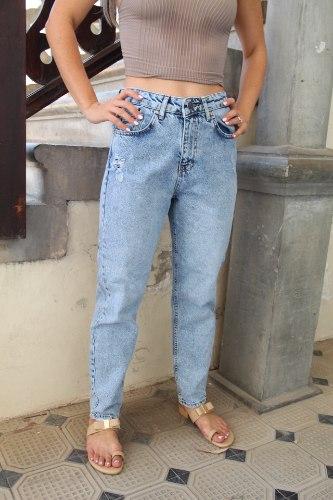 ג'ינס ניסן כחול