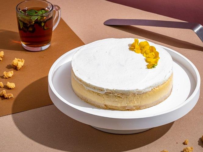עוגת גבינה אפויה קוטר 20