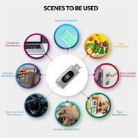 לדי - גאדט דונגל לסלולאר UVC אולטרהסגול קוטל חיידקים, בקטריות ווירוסים נייד מתאים לכל סוגי הטלפונים