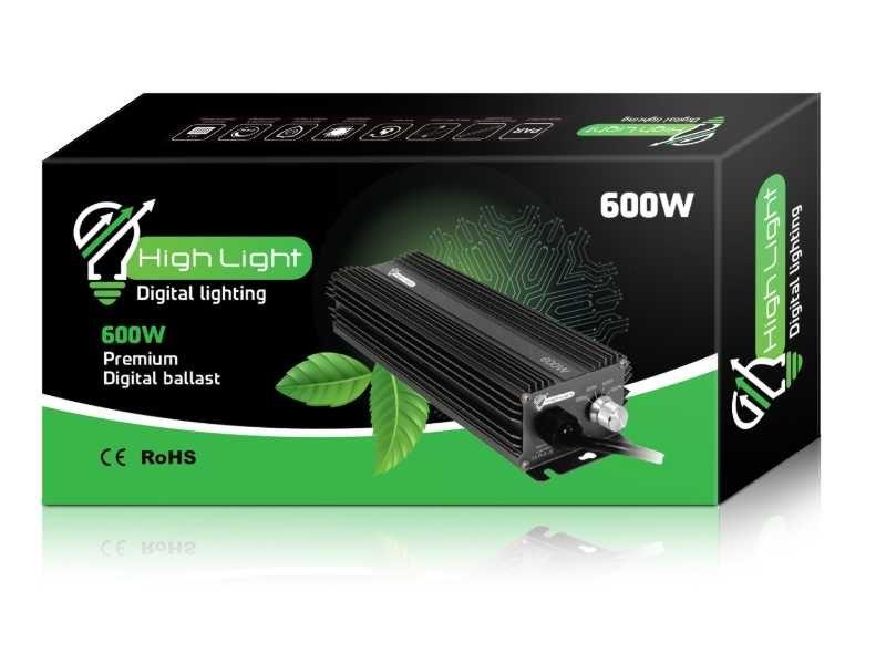 משנק דיגיטלי HIGH LIGHT 600w