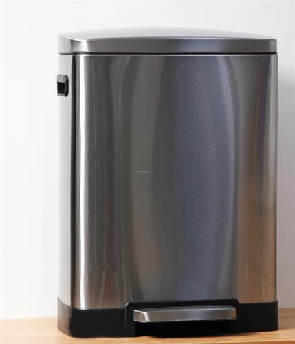 פח מלבן  למטבח 50 ליטר ניקל נרוסטה