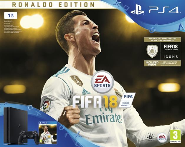 PlayStation 4 Slim FIFA 18 Deluxe Bundle