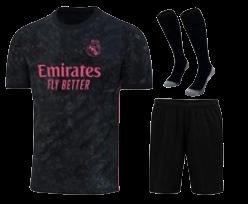 חליפת ילדים  ריאל מדריד חוץ  20-21 (כולל גרביים)