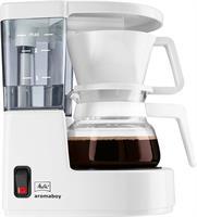 מכונת קפה פילטר מליטה ארומה בוי Melitta AromaBoy Filter Coffee White