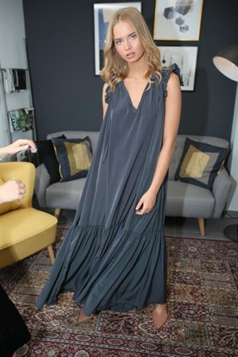 שמלת סטלה אפורה