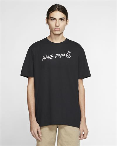 HURLEY  HAVE FUN T-SHIRT- BLACK