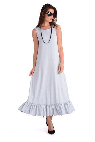 שמלה ימית תכלת