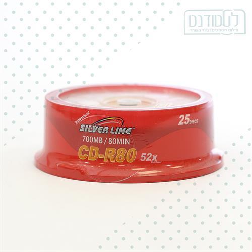 מארז 25 דיסקים CD