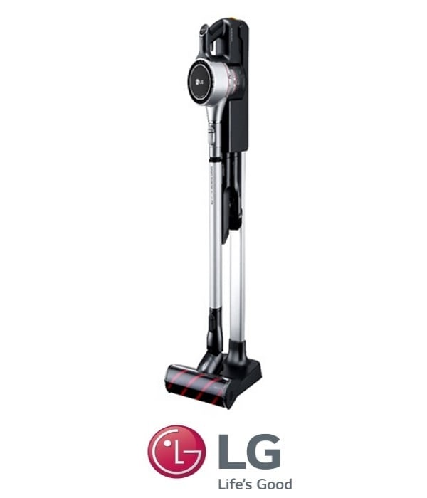 LG שואב אבק ללא כבל A9 דגם:  A9MASTER2X - כסוף