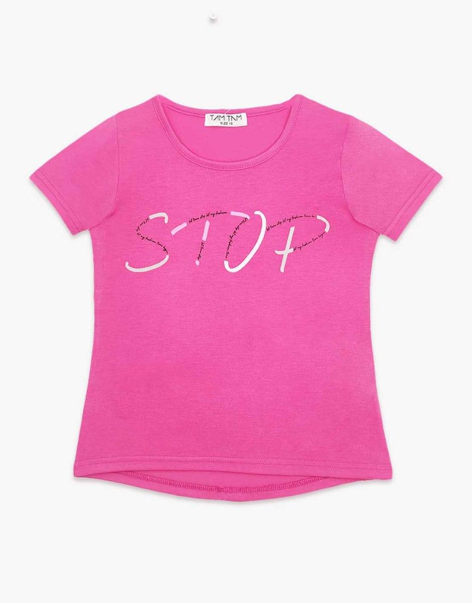חולצה בנות טריקו מעוצבת STOP