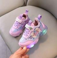 נעלי ספורט אנה ואלזה - LED