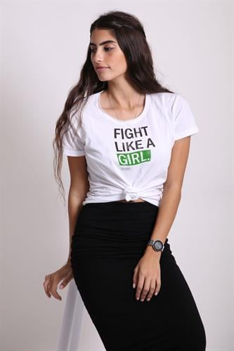 FIGHT LIKE A GIRL - Tshirt