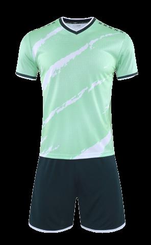 חליפת כדורגל ירוק שחור