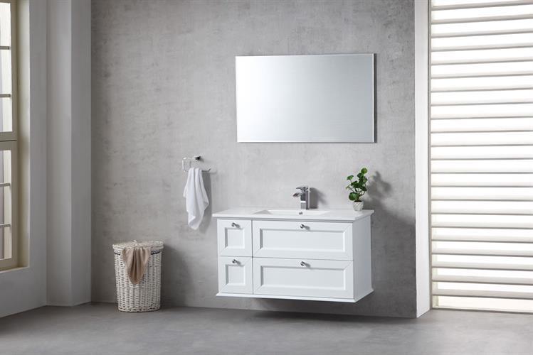 ארון אמבטיה תלוי בעיצוב נקי דגם נובל NOBEL