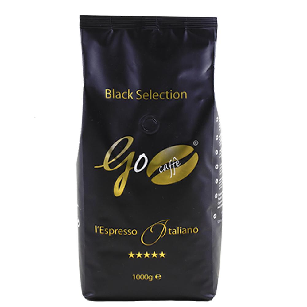 """1 ק""""ג בלאק סלקשן – GO CAFFE BLACK SELECTION Goriziana Caffe"""