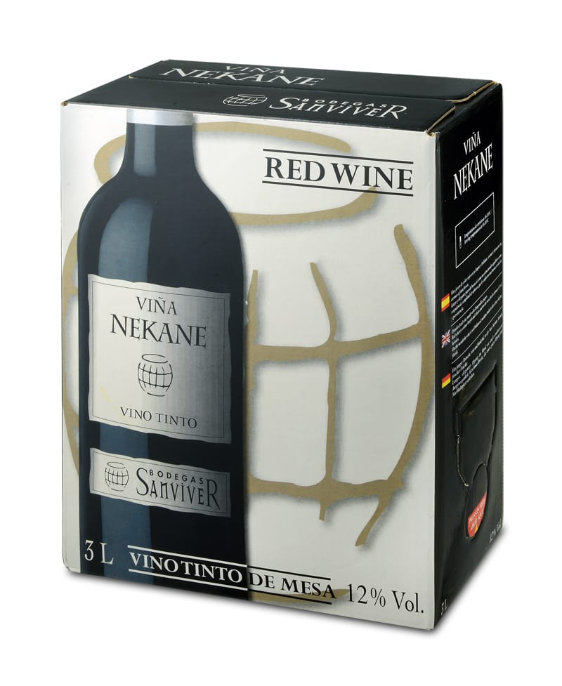יין בקופסא 3 ליטר
