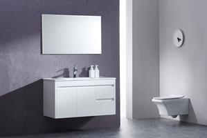 ארון אמבטיה תלוי בעיצוב נקי דגם גליה GALIA