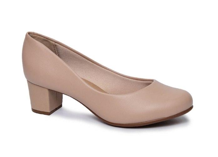 נעל עקב מרובע נוחות לנשים VIZZANO דגם - 4777-309