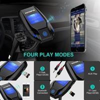 משדר fm מקצועי FM35  לרכב+דיבורית בלוטוס+aux