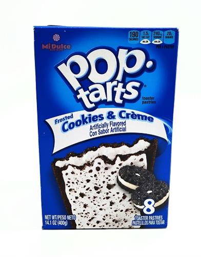 Pop Tarts cookies &creme