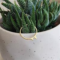 טבעת Bunny זהב 14K