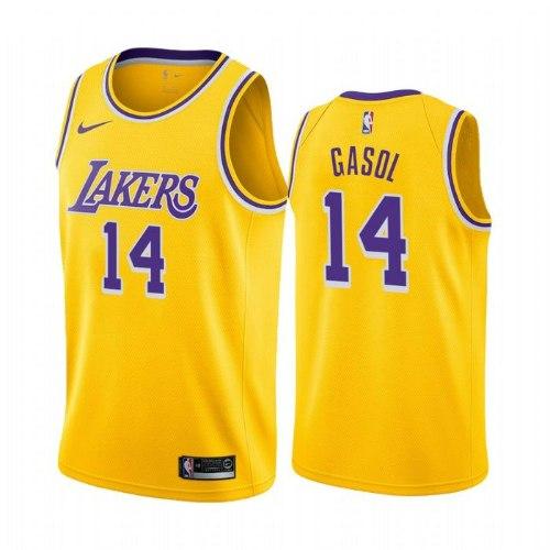 גופיית NBA לוס אנג'לס לייקרס צהובה 20/21 - #14 Marc Gasol