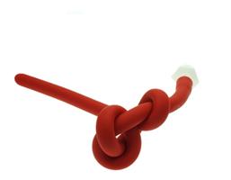 צינור חוקן מתחבר כולל חיבורים לניקוי יסודי גמיש בצבע אדום