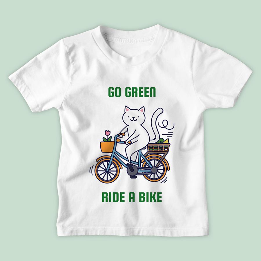 חולצת ילדים Go Green