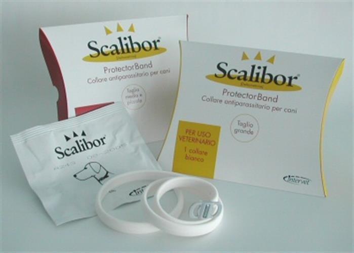 """קולר סקאליבור נגד קרציות גודל 65 ס""""מ Scalibor"""