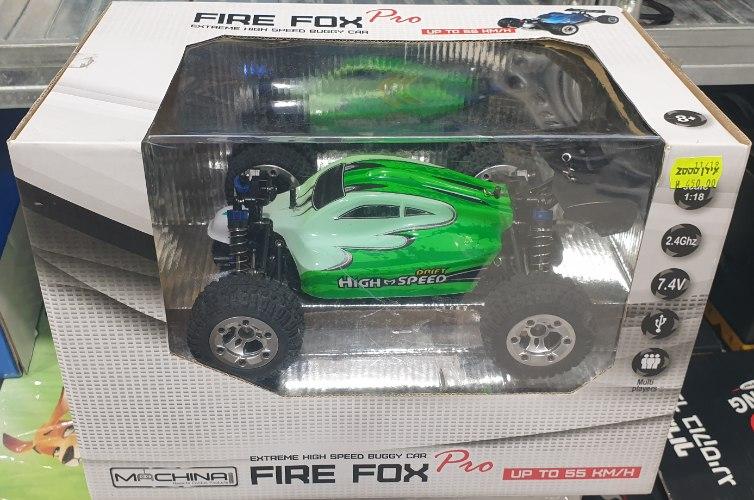 מכונית על שלט רחוק  FIRE FOX MACHINA