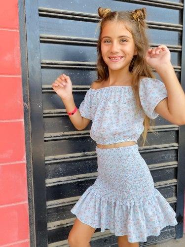 חצאית צבקות וולן