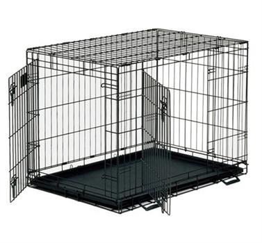 כלוב רשת לכלב 107 2 דלתות