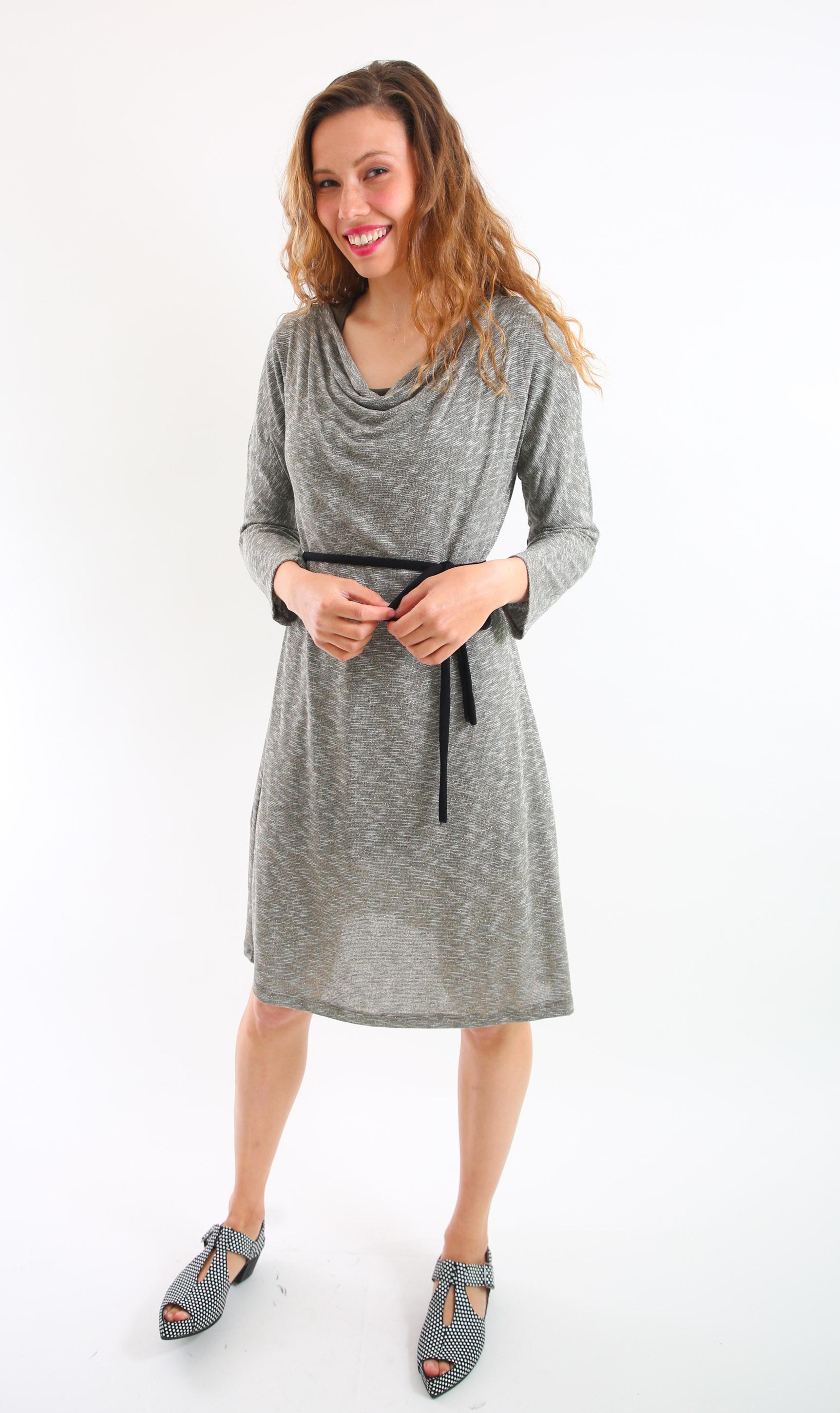שמלת מאיה חום בהיר