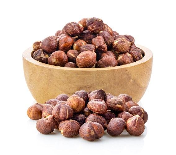 אגוזי לוז טבעיים - נשמרים בקירור - 500 גרם