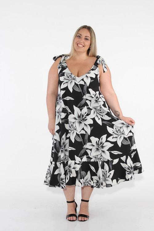 שמלת שיילין שחורה