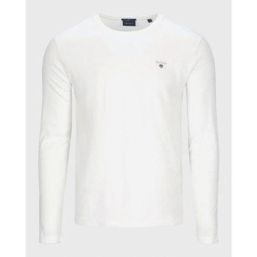 ORIGINAL SLIM LS T-SHIRT WHITE| גברים