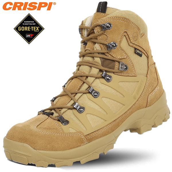 נעליים טקטיות נעלי  הרים קריספי - CRISPI STEALTH PLUS GTX COYOTE