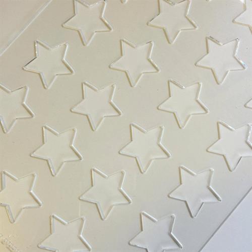 לוח כוכבים קטנים - ליצירה בשוקולד