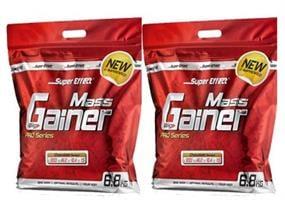SUPER GAINER 6.8 KG מבית SUPER EFFECT זוגי