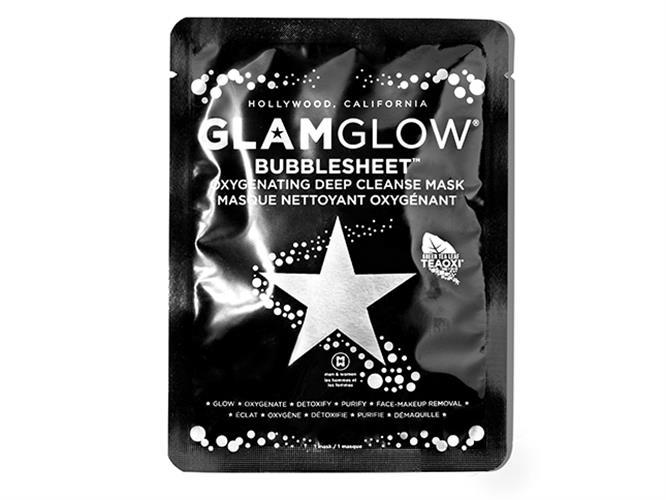 גלאם גלואו - מסכת בד דיטוקס לניקוי עמוק וטיהור עור הפנים - Bubblesheet