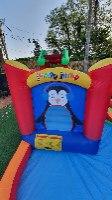 מתקן קפיצה מתנפח פינגווין רטוב עם מים  - Jumpy Jump  - קפיץ קפוץ
