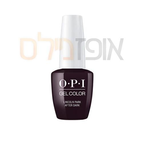 opi ג'ל צבע Lincoln Park After Dark