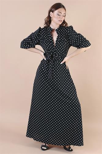 שמלה לילוש נקודות