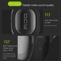 אוזניית Bluetooth אלחוטית עם דיבורית+מוזיקה – דגם QCY Q26 mini-
