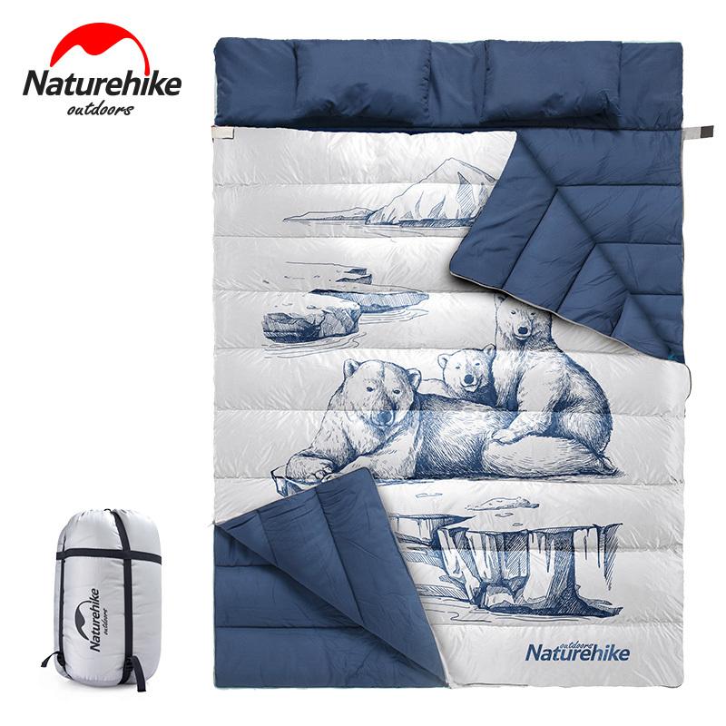 שק שינה זוגי NATUREHIKE V2