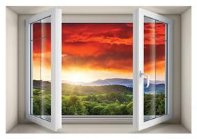 חלון בנישה דגם 5002
