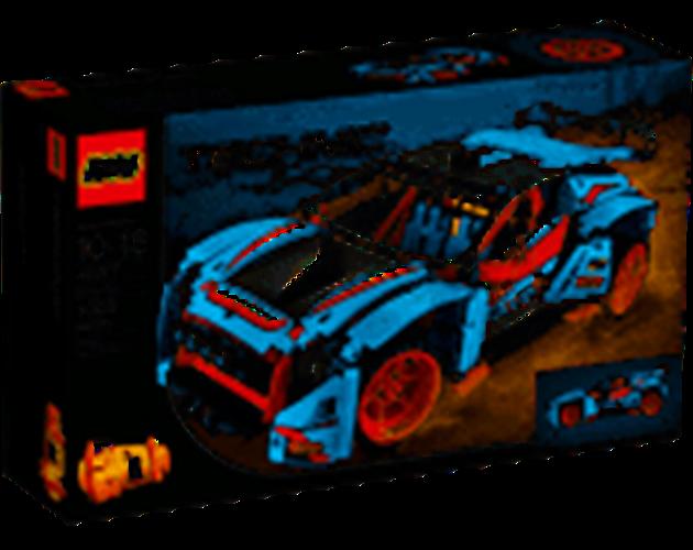 מכונית ראלי כחולה 42077